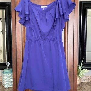 Sassy blue dress